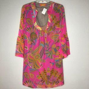 Trina Turk 20th Anniversary Silk Dress NWT Sz 4
